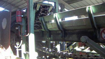 Impianto di scortecciatura FERRARI FE650 scortecciatrice