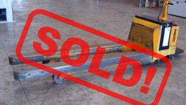 SAMAG TM 30 long forks electric transpallet – SOLD