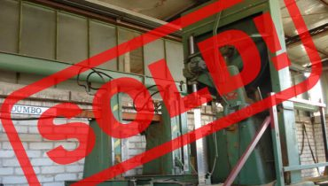 "VERTICAL BANDSAW ""DUMBO 1200"" sawmill – SOLD"