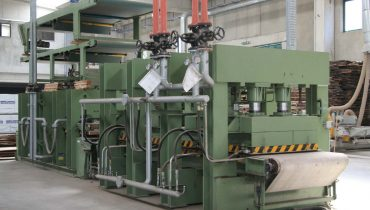 Hot press  CREMONA 1300×4300 mm