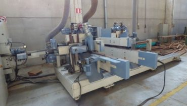 Tenoning Profiling Line for doors windows and Parquet GMC TSG48-PDA2