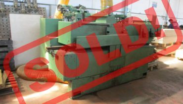 Doubleshaft multiblade saw A.Costa Leopard/SS 2×75 kw multirip saw – Sold