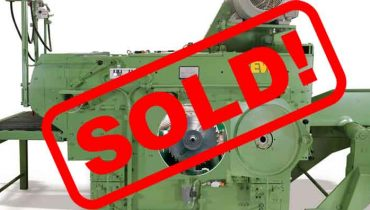 Multirip saw / Edger EWD DK90 TL1000 Esterer edger gang circular resaw – SOLD
