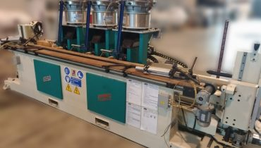 electronic dowel inserting machine with independent heads MARZANI MULTIWORK 3T-CN anuba hinge