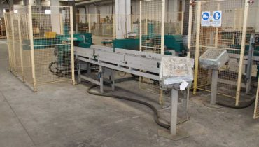 Linea automatica Finger Joint DIEFFENBACHER finger jointer – KVH production