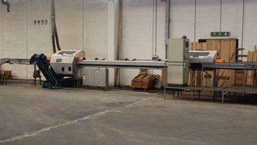 Troncatrice Ottimizzatrice PAUL 11MKL OPTIMISING DOCKING SAWS