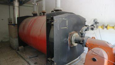 Centrale termica CARBOFUEL TRP 1750 caldaia a gas