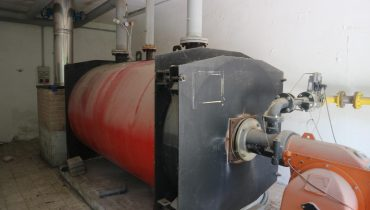 Thermal power plant CARBOFUEL TRP 1750 gas methane boiler