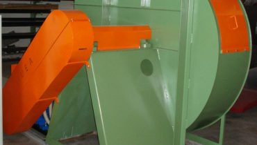 Centrifugal fan IMEA 55 kw suction system