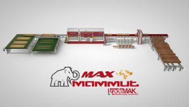 MAX Mammut 400-500-600 – Linea profilatura tronchi ad alta velocità