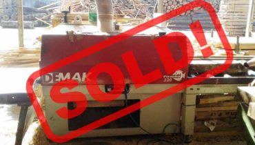 Multirip saw DEMAK EURO320 PIRANHA320 Trademak Circular Saw 45 kw – SOLD