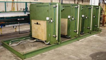 HOLZMATIC automatic stacker fr boards, slats and profiles